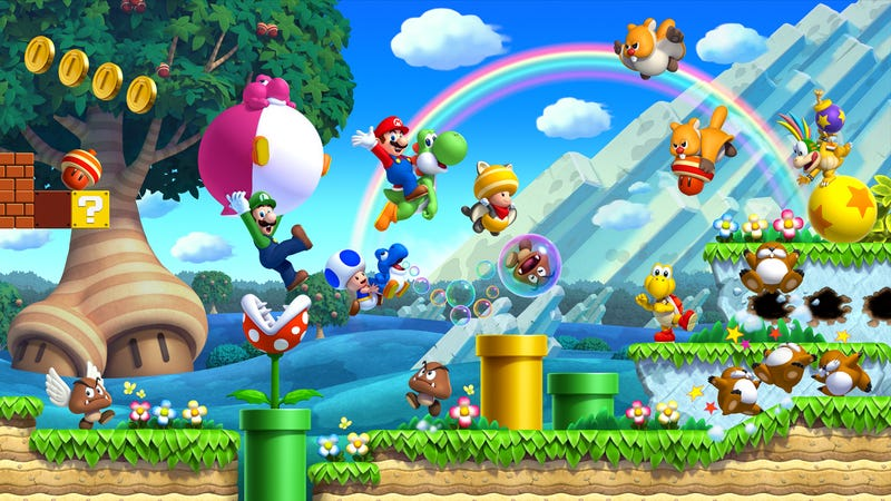 Illustration for article titled New Super Mario Bros. U Review