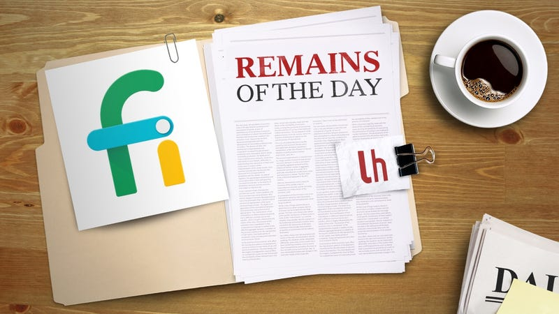 Illustration for article titled Remains of the Day: Google's Project Fi Gets Better International Coverage