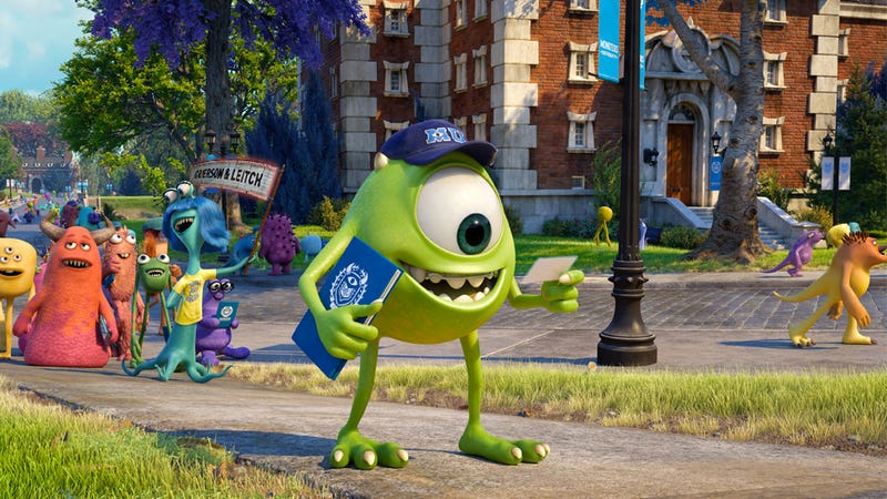Illustration for article titled Pixar Inches Back On Track: Monsters University, Reviewed.