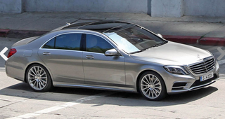 Illustration for article titled New S-Class - this is it (supposedly)