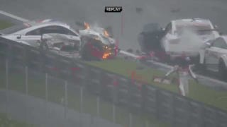 Fiery6-car crash at Red Bull Ring Spielberg