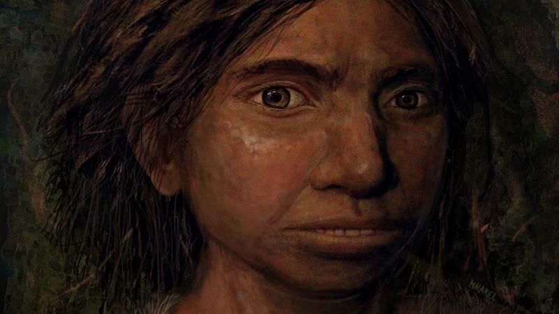Illustration for article titled Esta reconstrucción facial pionera muestra cómo serían los enigmáticos denisovanos