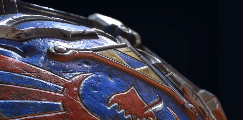 Illustration for article titled Up Close With The Hylian Shield