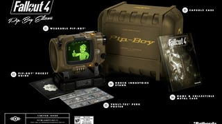 Your big-ass phones won't fit in Fallout 4's replica Pip-Boy. According to a recently-updated post on the Bethesda Blog, the sought-after replica comes with inserts for iPhones 4 through 6 (not plus) and Samsung Galaxy 4 and 5, and a customizable insert for other average-size devices. Anything larger will need to ride outside or be in-advisably trimmed.