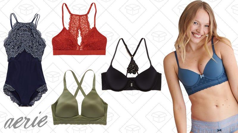 BOGO 50% off on bras, bralettes, sleepwear, and more