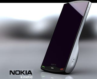Illustration for article titled Nokia Kinetic Concept Declines Calls Using Playful Flicks