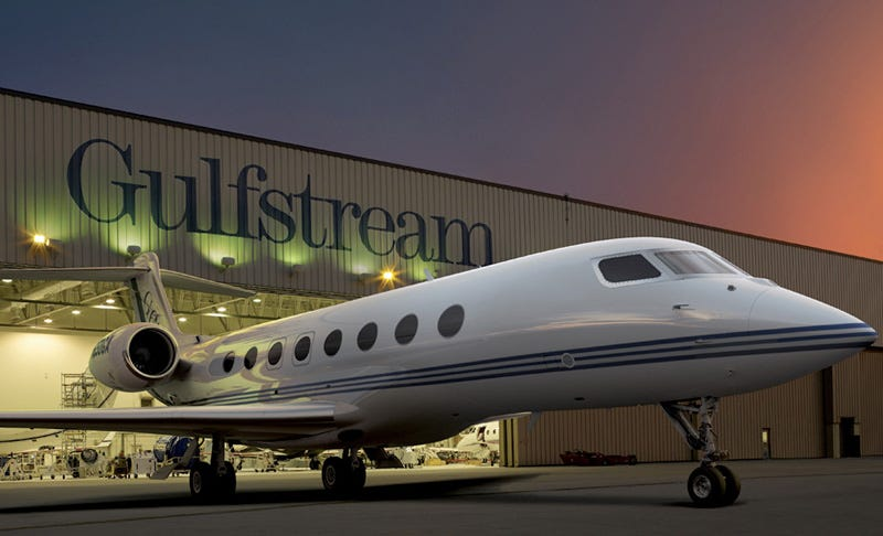 Illustration for article titled Near-Supersonic Gulfstream 650 Unveiled, Steve Jobs Gets Excited