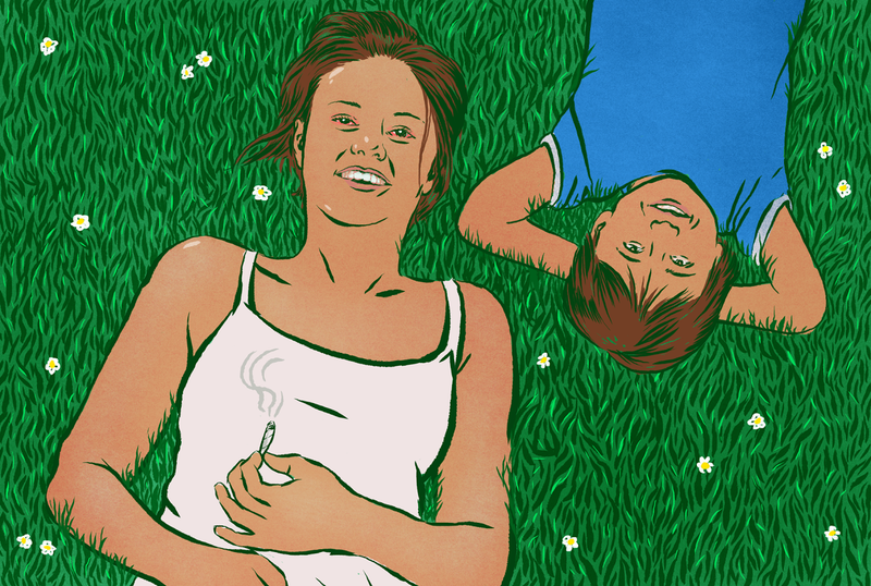 Illustration for article titled It's a Lot More Fun to Play Make-Believe With Your Kids If You're Slightly High on Weed