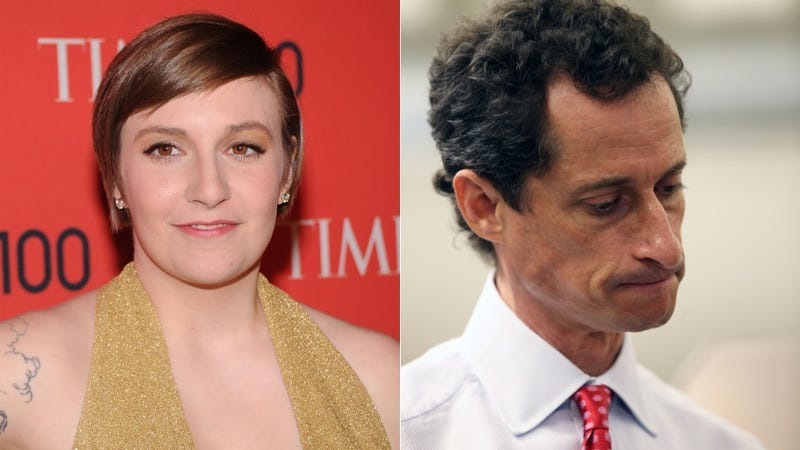 Illustration for article titled Lena Dunham Drops the Hammer on Weinergate