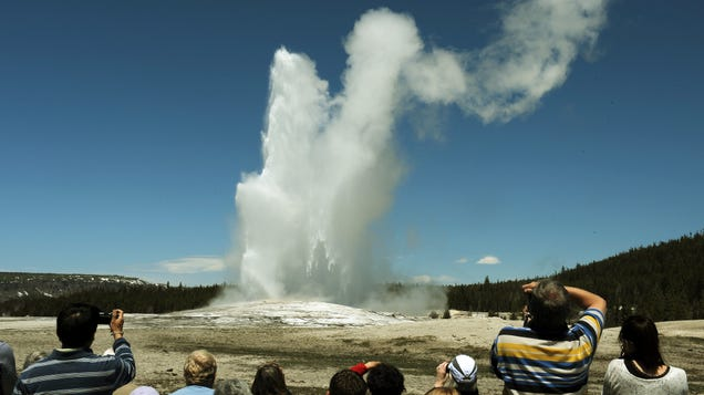 Old Faithful Might Not Survive Climate Change