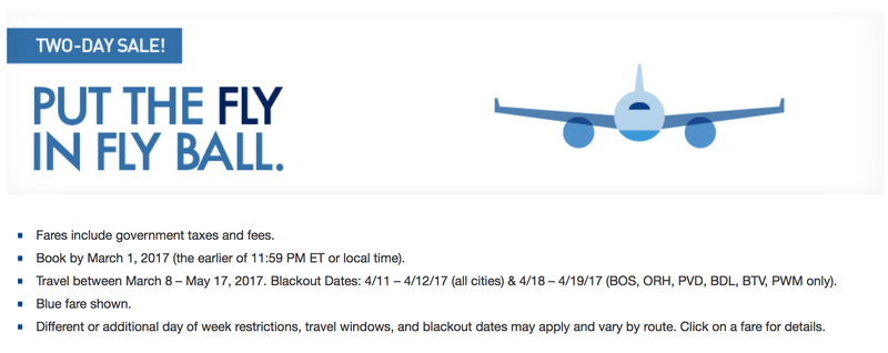 Illustration for article titled JetBlue's Two-Day Sale Has Fares Starting at $39