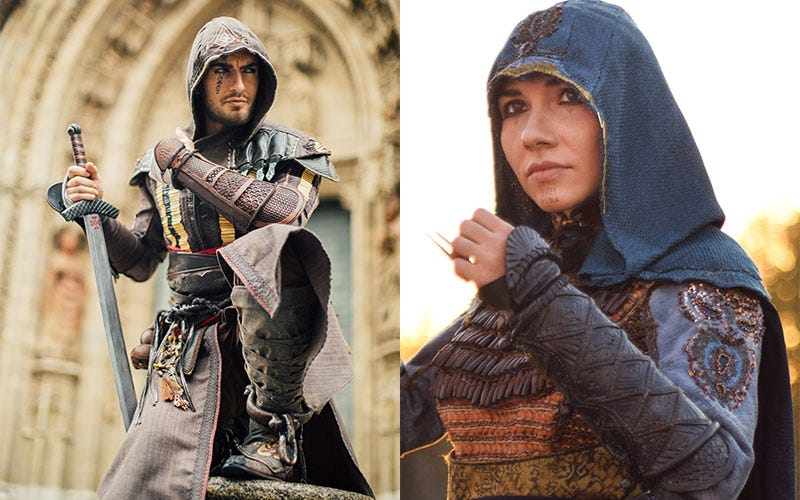Illustration for article titled Assassin's Creed: The Movie: The Cosplay