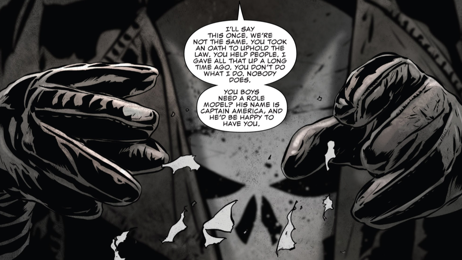 The Real Punisher Wants Cops to Stop Pretending They're the Punisher