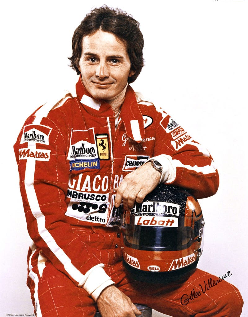 Illustration for article titled What's happening in a world where Gilles Villeneuve is alive?
