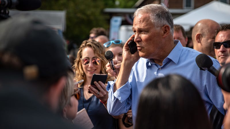 Illustration for article titled Jay Inslee's Long Green Shadow Over the 2020 Race
