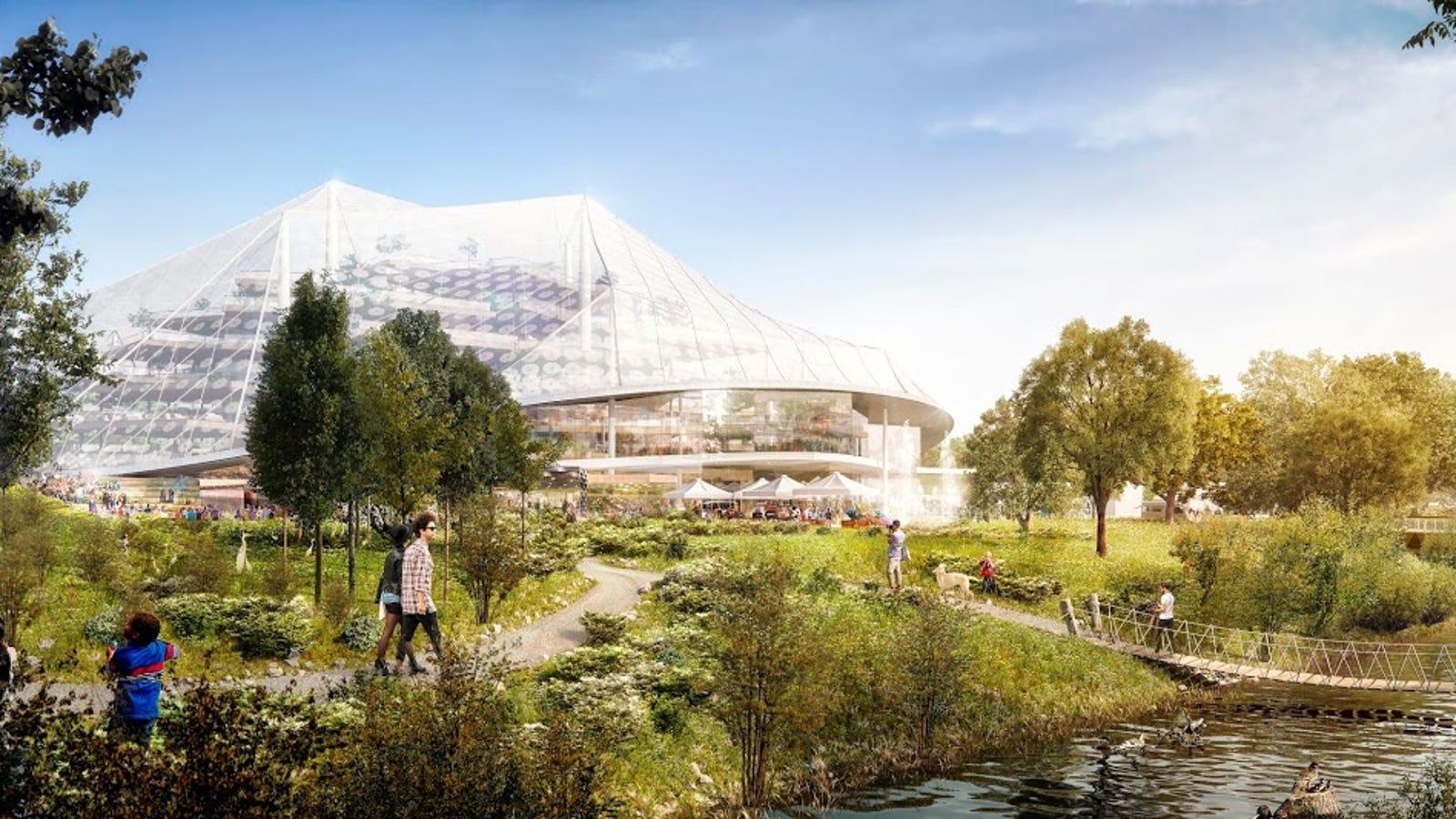 Así será el espectacular campus robotizado de Google en Silicon Valley