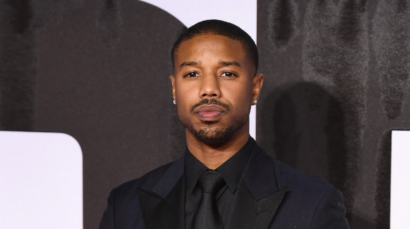 Michael B. Jordan attends the European Premiere of 'Creed II' at BFI IMAX on November 28, 2018 in London, England.