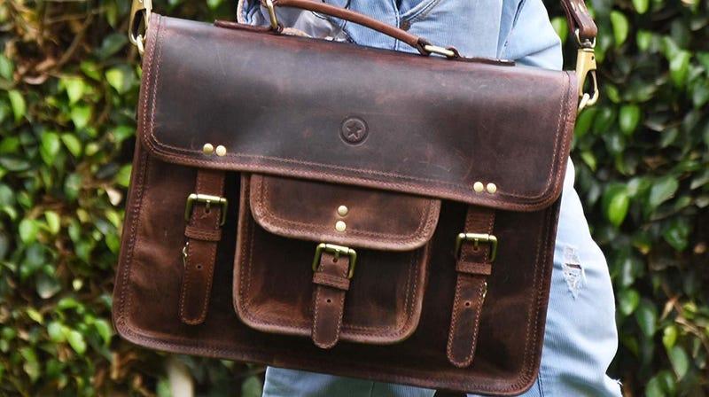 Aaron Leather Laptop Messenger Bags | $37-$75 | Amazon