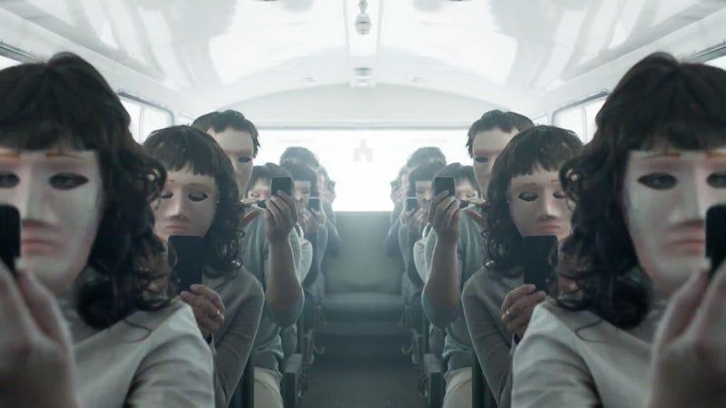Una escena de Black Mirror (temporada 2)