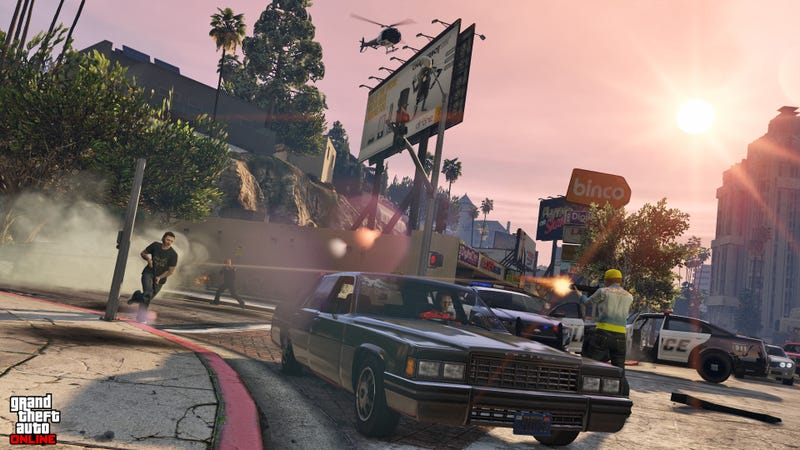 Illustration for article titled Nuevas imágenes de Grand Theft Auto V para PS4 y Xbox One