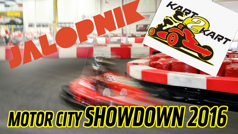 Illustration for article titled Are You Faster Than Jalopnik? Come Karting With Us And Find Out!