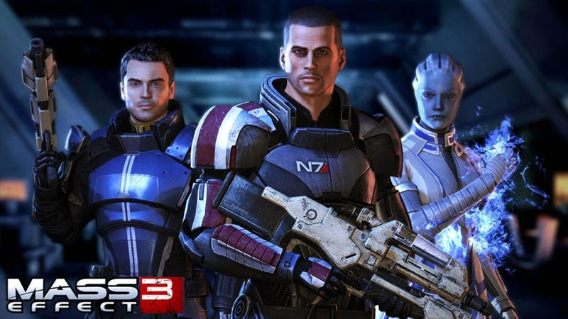 Illustration for article titled Mass Effect 3 Thrusts Its Way into Early 2012