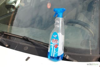 Illustration for article titled What do you guys use to clean the inside of your windshields?