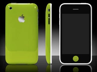 Illustration for article titled iPhone 3G Now in Multiple (Unofficial) Colors