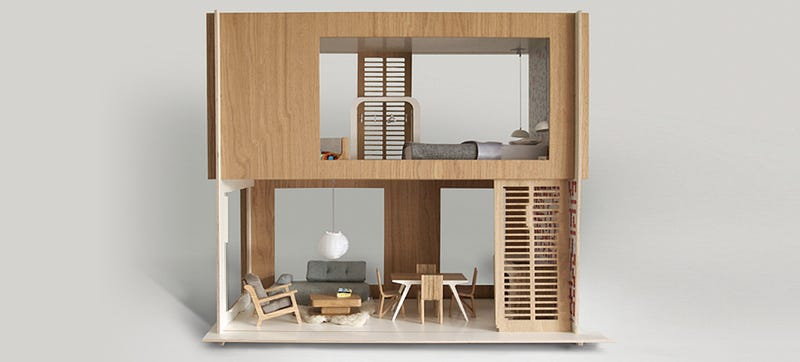 Illustration for article titled These Modern Dollhouses Are Nicer Than Your Actual Home