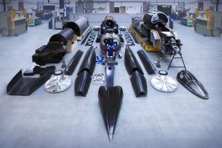 Illustration for article titled Todas las piezas del coche más rápido del planeta: 1.600 km/h