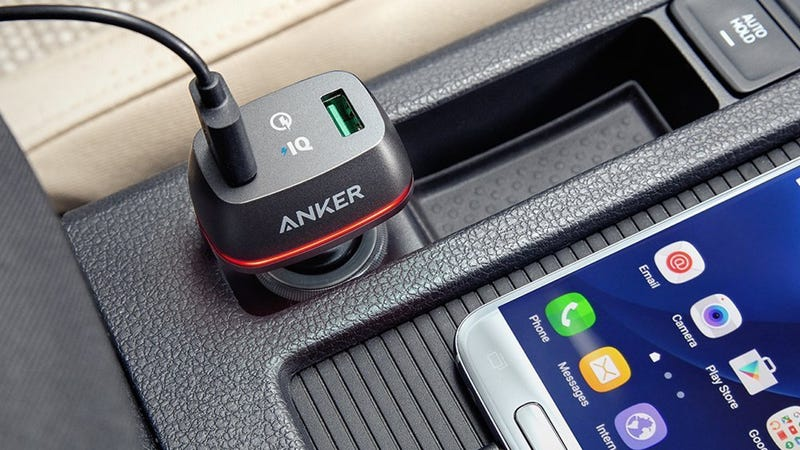 Anker Quick Charge 2.0 36W Dual USB Car Charger, $13