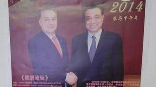 Illustration for article titled Máris kínai naptárra került Orbán