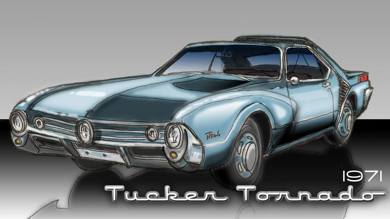Most Of Us Know The Story Preston Tucker And His Torpedo This Amazingly Advanced Car Was Scuttled By Three Their Friends In