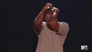 Kanye West being Kanye West during the 2015 MTV Video Music AwardsMTV