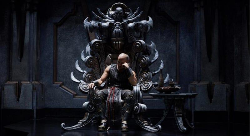 Illustration for article titled Riddick director explains how the Necromonger King gets dethroned