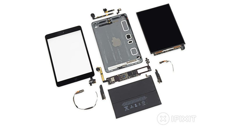Illustration for article titled El iPad Mini Retina por dentro: tras los pasos del iPad Air