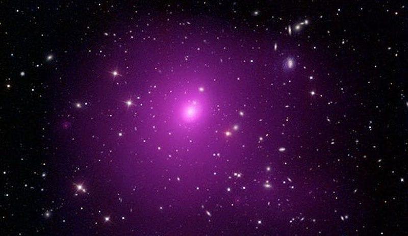 El cluster Abell 85 donde ha aparecido el nuevo agujero negro.