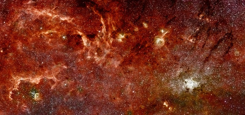 What did we think was at the center of our galaxy?