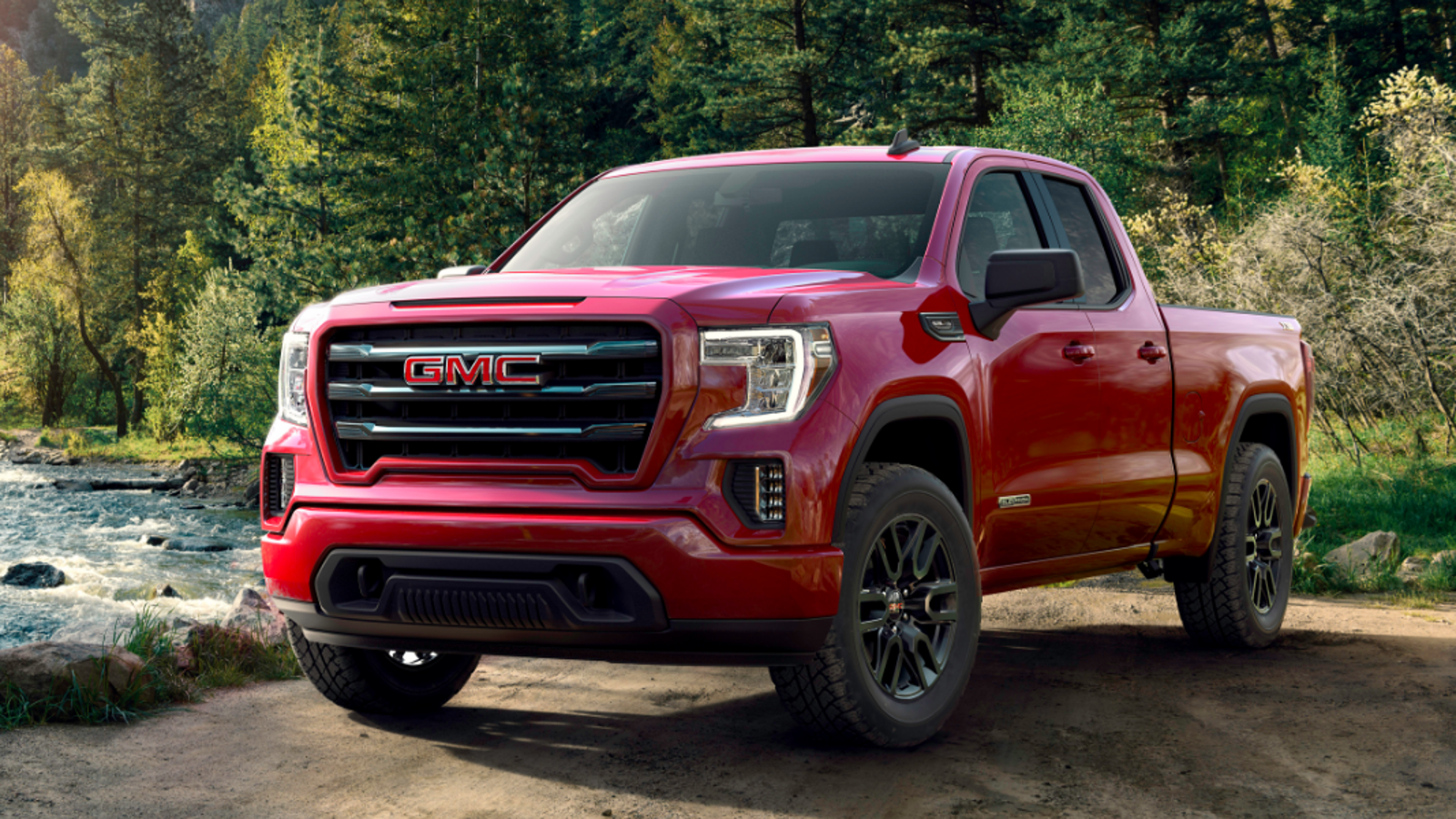 the 2019 gmc sierra elevation is a four