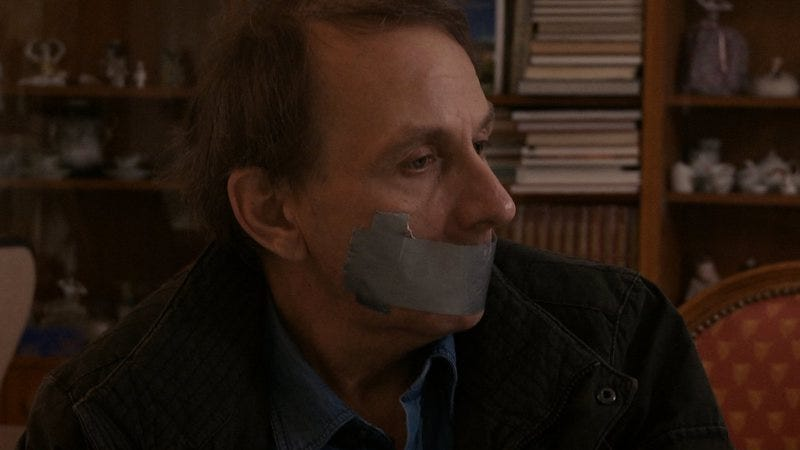 Illustration for article titled The Kidnapping Of Michel Houellebecq is a fans- (and critics-) only meta-comedy