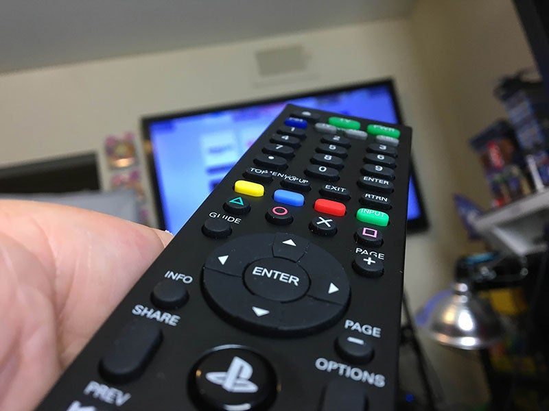 The PlayStation 4 Universal Media Remote gets the Job Done
