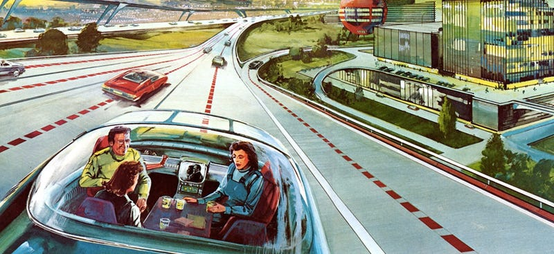"""Illustration for article titled Should People Be Allowed to Drink and """"Drive"""" Self-Driving Cars?"""