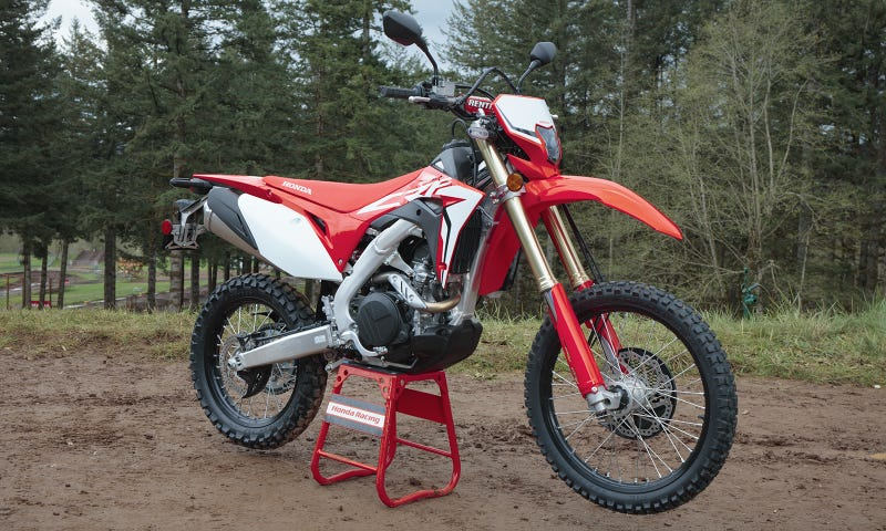 Hell Yes Honda's Making A Street Legal Dirt Bike With A Big