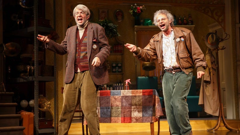 John Mulaney (left), Nick Kroll (Photo: Joan Marcus)