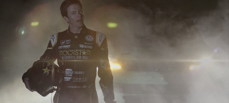 Illustration for article titled Tanner Foust Returns To Formula Drift In A 900 Horsepower VW Passat