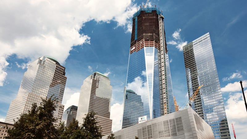 New world trade center building photos
