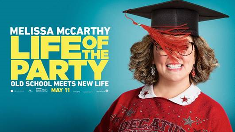 Melissa Mccarthy Goes Back To School In The Feeble Campus Comedy