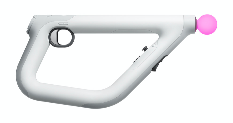 Illustration for article titled Este es el mando para shooters con el que Sony quiere que juegues en realidad virtual