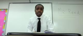 Chicago teacher Dwayne ReedYouTube Screenshot
