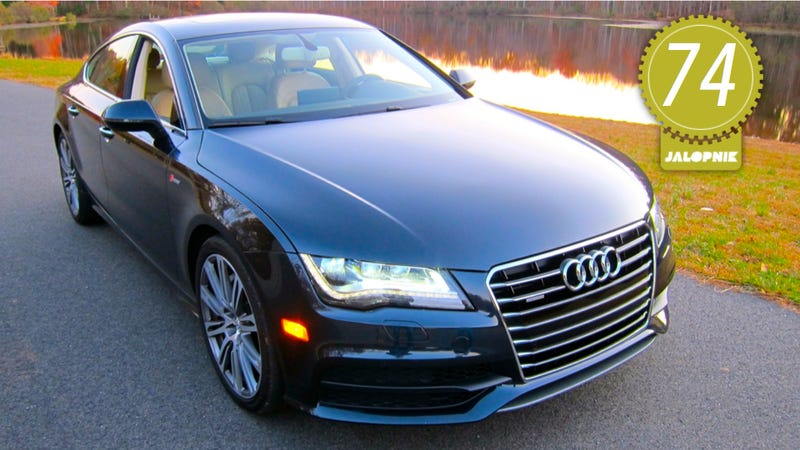 2012 audi a7 the jalopnik review. Black Bedroom Furniture Sets. Home Design Ideas